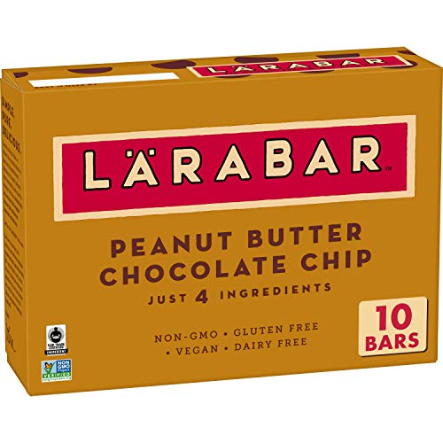 Larabar Gluten Free Bar, Peanut Butter Chocolate Chip, 16 oz