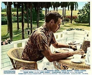 Diamond Head Original Lobby Card Charlton Heston Hawaii