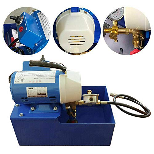 DONNGYZ New Electric Pressure Test Pump, Electric Pressure Hydraulic Piston Test Pump Testing 110V((US Stock)