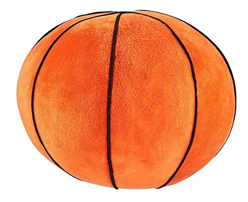 N/B AOLIAY 8.6 Inch Basketball Soft Toy Plush Ball, Suitable For Hand Cushion, Cushion Pillow, Room Decoration, Boy And Girl Gift