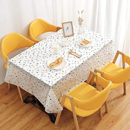 Yesiidor Flower Leaf e Tischdecke Farbmusterdruck Ölbeständige Tischdecke für den Gemüsegarten Outdoor Tragbares Picknickzubehör, Blume