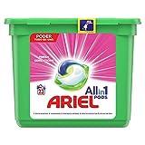 Ariel Todo en Uno Pods Rosa Fresca Detergente en cápsulas, 23pods, 23lavados, adecuado para lavar a baja temperatura, Perfume Duradero