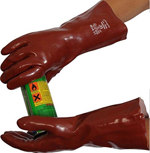 Gants R235 35,6 cm – Rouge – Taille 9,5