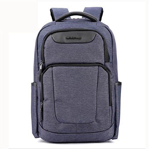 beibao shop Backpack Sac à Dos pour Ordinateur Portable 18 Pouces Imperméable Nylon Entreprise Décontractée Backpack, Blue