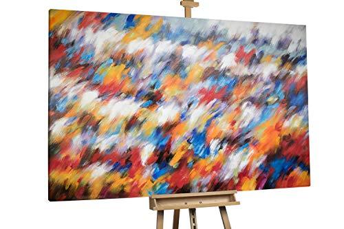 'Canon of Colours' 180x120cm | Abstrakt Rot Schwarz XXL | Modernes Kunst Ölbild
