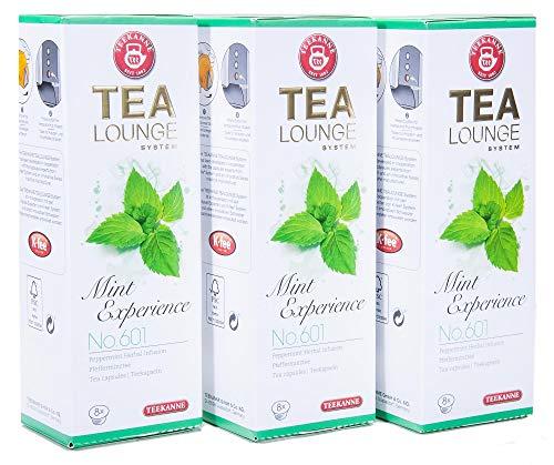 Teekanne Tealounge Kapseln - Mint Experience No. 601 Käutertee (3x8 Kapseln)