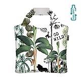ecozz Studio Onszelf – Bolsa de la compra para niño, 100% rPET (botellas de PET recicladas), impermeable, con cremallera, bolsa de la compra, bolso, bolsa de viaje, bolsa de playa