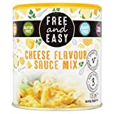 Mezcla de salsa de sabor a queso libre y fácil 130 g