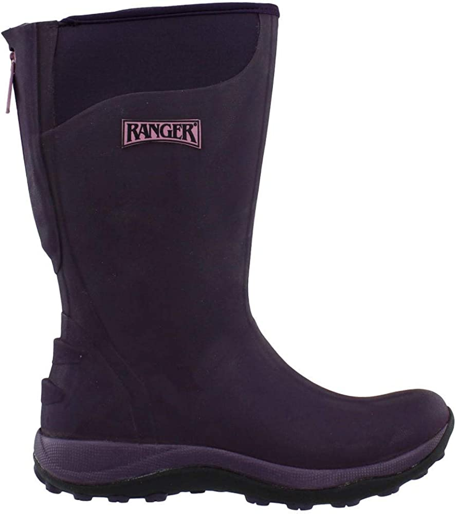 Ranger Womens Sale Pike Wp Zip - Mid safety Purple Boots Calf