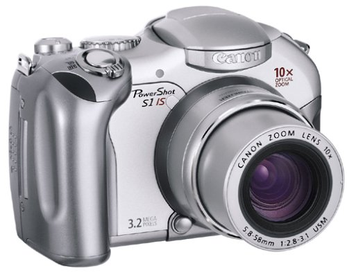 Canon PowerShot S1 is Digitalkamera (3,2 Megapixel)