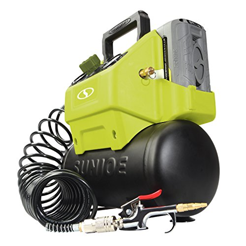Sun Joe IONAIR-CT 40V 4.0-Ah Cordless 1.6-Gallon Air...