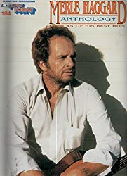 The New Merle Haggard Anthology - Piano - BOOK