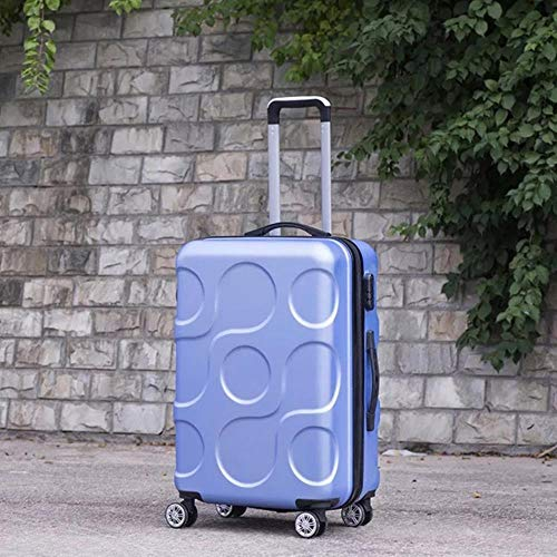 TTZY Coreano Pequeño y Fresco Equipaje con Ruedas Spinner Trolley para Mujer Maleta con Ruedas Bolsa de Viaje para Estudiantes Contraseña Hardside Cargar en el Maletero, como Muestra la Imagen, 24