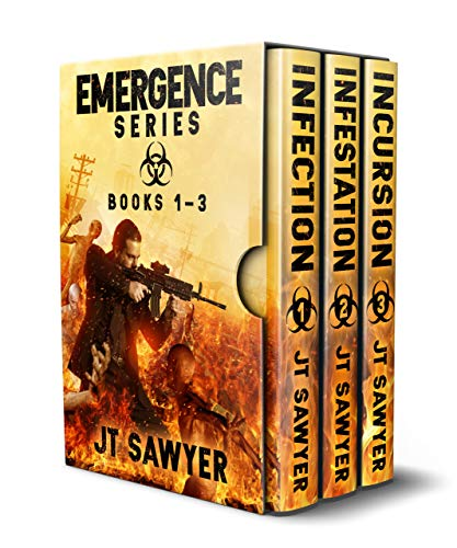 Emergence Series (Books 1-3), A Post-Apocalyptic Zombie Thriller by [JT Sawyer, Emily Nemchick]