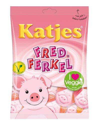 Katjes Fred Ferkel, 8er Pack (8 x 200 g)
