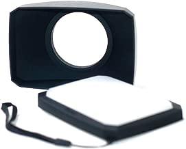 58mm 16:9 hdv Camcorder Lens Hood Compatible for Canon XA10 XA11 XA15 XA20 XA25 XA35 XF100 XF105 VIXIA HFS100 HFS20 HFS21 HFG10 hfG20 hfG30 HFS30 hd Camcorder