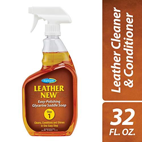 Farnam Leather New Easy-Polishing Glycerine Saddle Soap, 32 fl. oz.