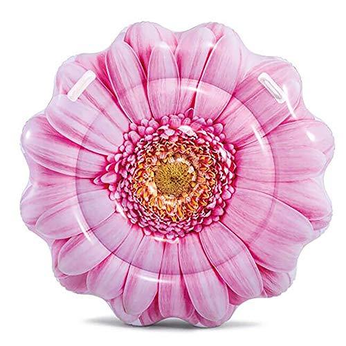 Bavaria Home Style Collection- Luftmatratze Badeinsel Insel aufblasbar Blume Größe Durchmesser Ø 142 cm