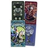 W808M Anne Stokes Legends Tarot Cards Deck and EGuide Book Einstruction Fate and Fortune Prediction Game Card