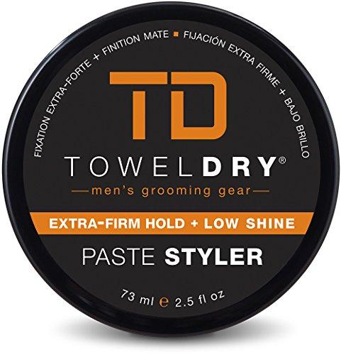Towel Dry Paste Styler for Men, 2.5 Ounce