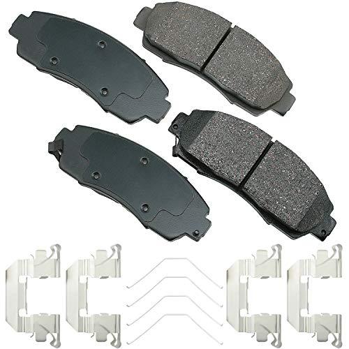 Akebono - ACT1089A Ultra-Premium Ceramic Front Disc Brake Pads