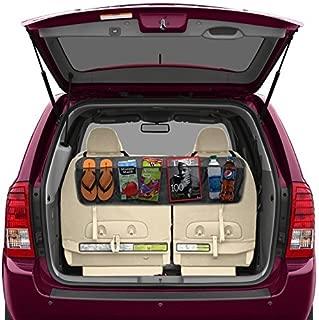Vepson Car Back Seat Storage Organizer (Black)