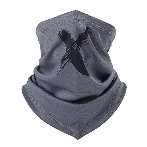 ITODA Multifunktionstuch Schnelltrocknend Funktionstuch Halstuch UV Schutz Bandana KopftuchAtmungsaktiv Schlauchschal Unisex Schlauchtuch Nackenschutz Sporttuch für Motorrad Radfahren Running