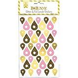 Bobunny Essentials Pegatinas Purpurina, Color Dorado