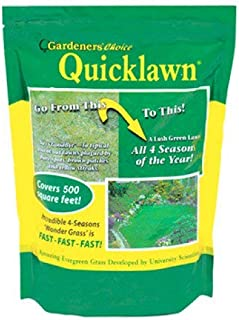 Gardener's Choice Quicklawn Lawn Seed- 5 lbs. (2500 Sq Ft)