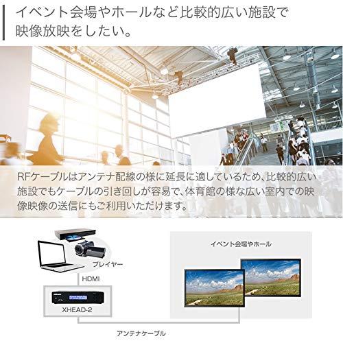 『マイコンソフト 地デジ対応 OFDM変調器 混合器+HDMIケーブル付限定セット XHEAD-2 DP3913555 電波新聞社 アンテナ デジタル変調器』の5枚目の画像