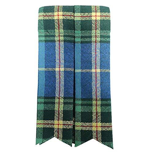 Ingles Buchan Mens Worsted Wool Scottish Tartan Sock Flashes Nova Scotia