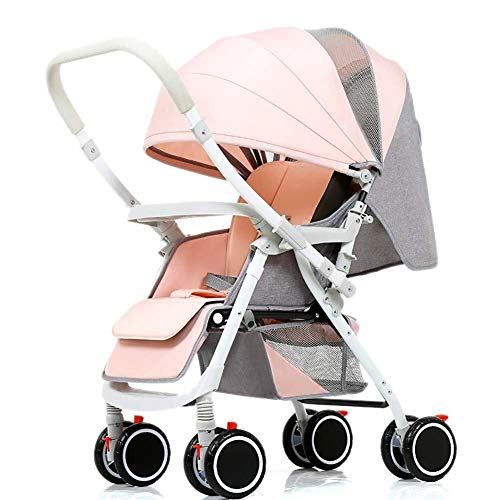 Why Should You Buy TZZ Baby Stroller Reversible Folding Pushchair Buggy with 5 Point Safety System f...