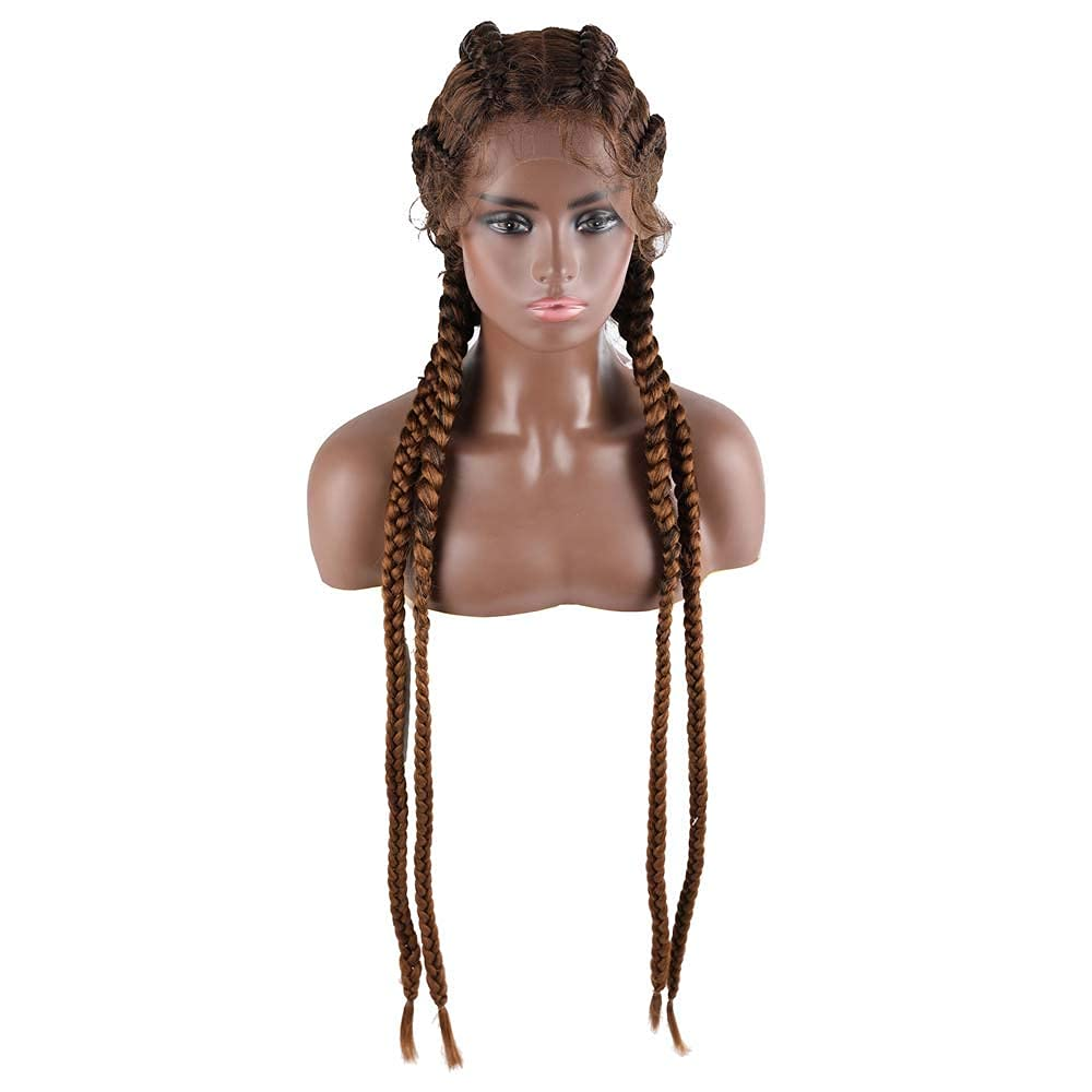 Braided Wigs Super special price Synthetic Lace Ladies Super intense SALE Front Wig
