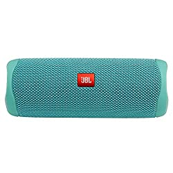 top rated JBL FLIP 5 Waterproof Portable Bluetooth Speaker Turquoise (New Model) 2021