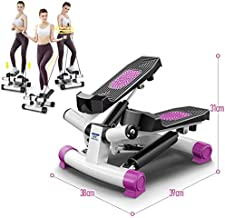 Maly Step Mini Stepper Exercise Machine, Aerobic Stepper Motor Sport stech 2in1 up-Down-Stepper with Power Ropes for Home Fitness, 1 PC