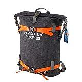 YSSWJD Mochila a Prueba de Agua al Aire Libre: 20 litros Roll-Top Portátil Portátil Portátil Portátil Bolsa de Remo Kayak Pesca Rafting Natación Camping