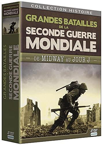 Coffret Grandes batailles de la 2nde Guerre Mondiale-De Midway au Jour J