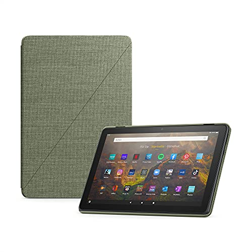 Schutzhülle von Amazon für das Fire HD 10-Tablet (nur kompatibel mit Tablets der 11. Generation, 2021), olivgrün