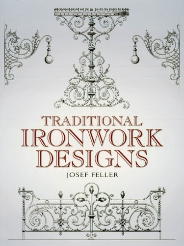 Traditional Ironwork Designs (Dover Pictorial Archive) (English Edition)
