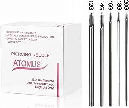 Amazon.es: agujas de piercing