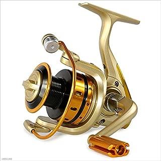 VGBHJ Carrete para Agua Salada o de Agua Dulce, Spinning Fishing Reel Coarse Fishing