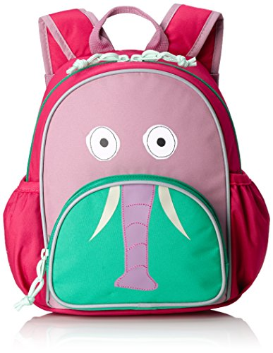 LÄSSIG Mini Backpack Update Kinderrucksack Kindergartentasche, Wildlife Elephant