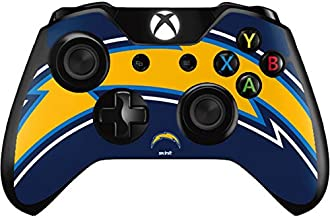 Skinit Decal Gaming Skin for Xbox One Controller - Officially Licensed NFL Los Angeles Chargers Large Logo Design