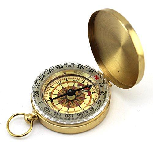 Demarkt Kompass Wandern Kompass Taschenkompass Leuchtziffern outdoor Navigation Werkzeug für Camping Wanderer Abenteurer