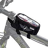 Zündapp Fahrrad Rahmentasche Rennrad Fahrradtasche Fahrrad Zubehör Mountainbike Fahrradrahmen Tasche Rahmen Oberrohrtasche wasserdicht Rad Taschen klein