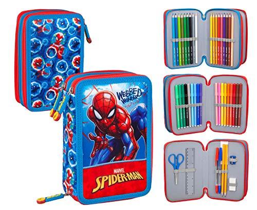 Spiderman 40424 - Estuche triple relleno
