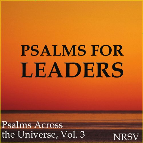Psalm 63 (NRSV English, French) audiobook cover art
