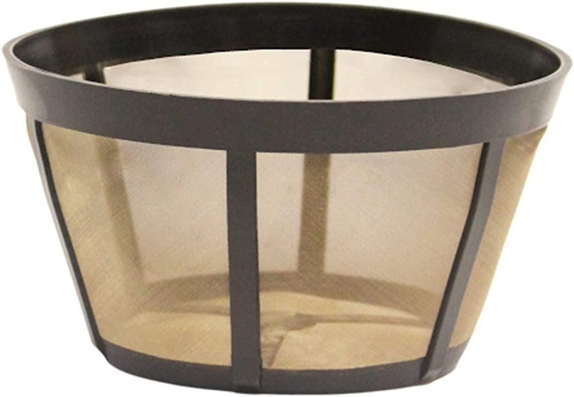 Bunn Replacement Washable Goldtone Basket Coffee Filter Fits Models BX BTX GRX NHB NHS ST HG HT