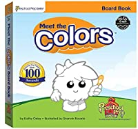 Meet the Colors: Lift the Flap Book 0977021556 Book Cover