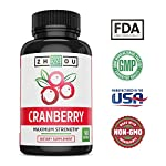 Cranberry Maximum Strength Urinary Tract Support - Non GMO & Gluten Free Antioxidant -Fight Infection & Support Immune System - Concentrate for Bladder & Kidney Health - Once Daily Softgels #3